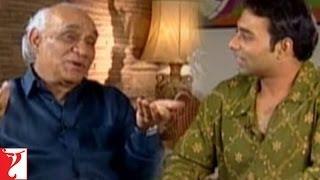 yash chopra in conversation with uday chopra darr