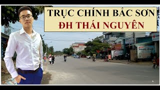 ĐẤT TRỤC CHÍNH BẮC SƠN - ĐH THÁI NGUYÊN • TP. Thái Nguyên • Bất Động Sản Thái Nguyên ★Tú Nguyễn Phan