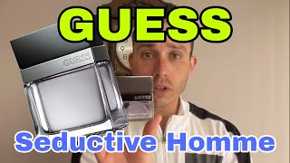 Guess Seductive Homme fragrance/cologne review