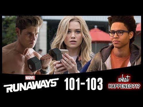 "MARVEL'S RUNAWAYS Episode 1 - 3 Recap: ""Reunion,"" ""Rewind"" & ""Destiny"" 1x04 Promo | What Happened?!?"