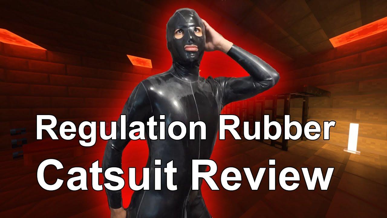 Regulation Rubber Review - Shoulder Entry Catsuit