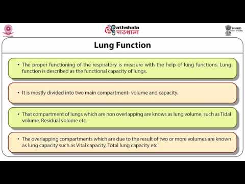 Variations in respiratory functions with environment (ANT)