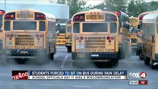 School addresses students who were forced to stay on bus