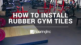 Rubber Tiles Installation Made Easy