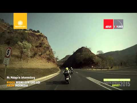 Motorcycle Riding South Africa: DAY 6, Malaga to Johannesburg