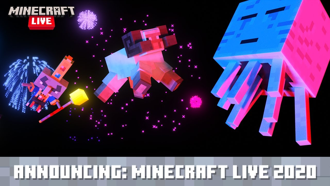 Minecraft Live Announced For October 3