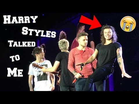 HARRY STYLES TALKED TO ME ON STAGE (Vlog)