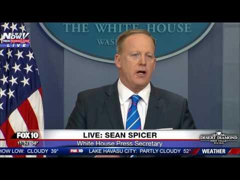 FULL: Sean Spicer White House Press Briefing 2/27/17 (FNN)