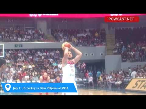 POWCAST: Gilas Pilipinas vs Turkey Sights and Sounds