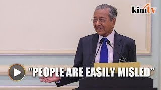 Dr Mahathir reveals why Malaysia is withdrawing from Rome Statute