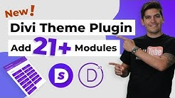 New Divi Theme Plugin! - Add 21 More Divi Modules To The Divi Theme!