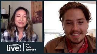 riverdale-star-cole-sprouse-quarantine-mustache-animal-crossing-podcast