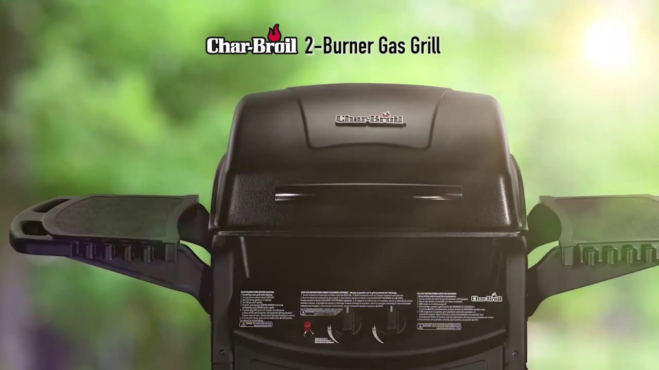 Char Broil 2 Burner Gas Grill You