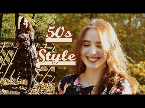 Vintage Inspired Fall Outfit 🍂 | ♥ 50s Style ♥ | OOTD