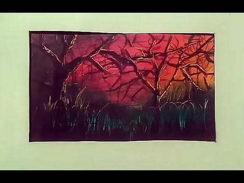 painting with crayons in seven minutes youtube
