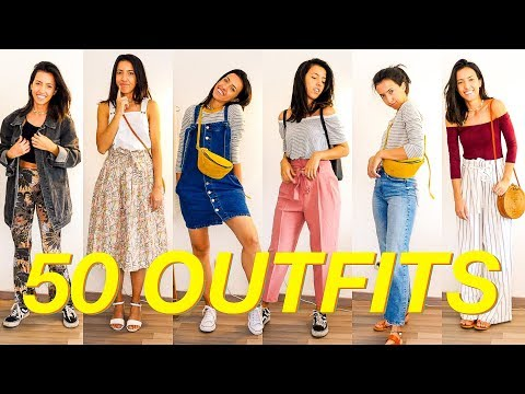 50 OUTFITS wenn