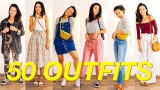 50 OUTFITS wenn du nichts zum anziehen hast!
