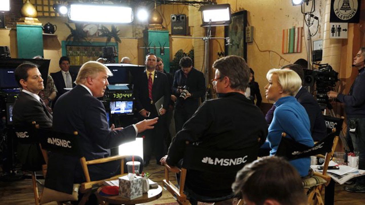 Trump Gets 'Morning Joe' And 'Mika' Hot  And Bothered  On 'SNL'