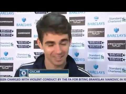 Oscar Dos Santos first interview in ENGLISH !