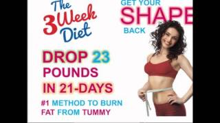 The Fastest Way To Lose Weight In 3 Weeks | 2016 |