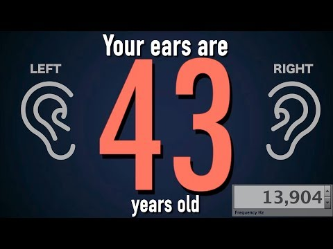 How Old Is Your Hearing? - Interactive Test For Your Ears