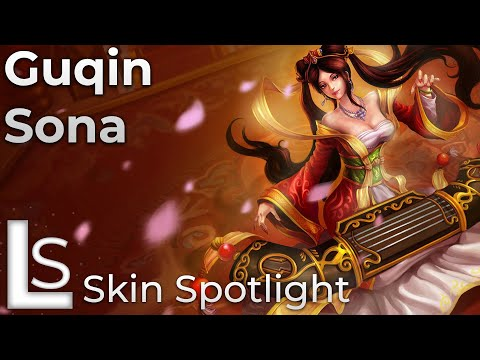 Guqin Sona - Skin Spotlight - League of Legends - Lunar Revel Collection