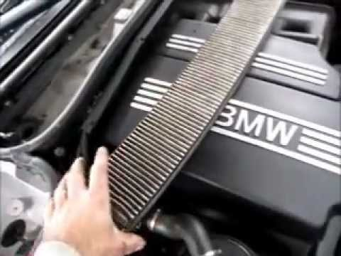 2004 BMW 325i Engine Cover Removal & Installation - YouTube