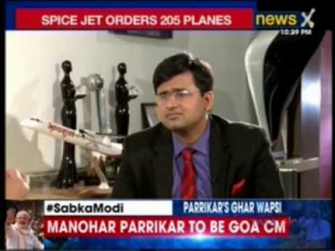 Catch the glimpses of Mr. Ajay SIngh's (Chairman and Managing Director), SpiceJet interview to NewsX