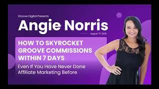 GrooveDigital Presents — Angie Norris GrooveStars Ascend REPLAY