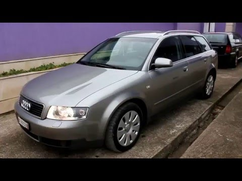 audi a4 b6 avant 3 0 v6 quattro 220hp 2002 youtube. Black Bedroom Furniture Sets. Home Design Ideas