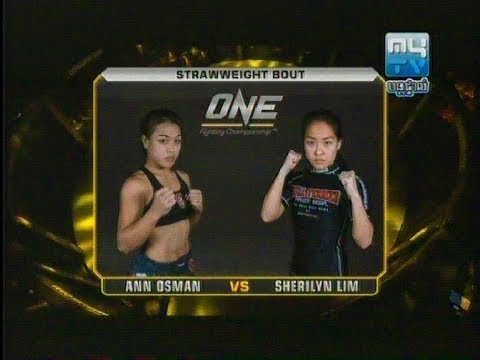 One Fighting_Ann Osman (Malaysia) vs Sherilyn Lim (Singapore) (18 10 2013)