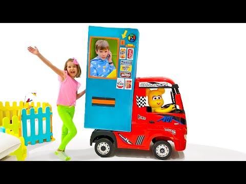 Катя и её торговый магазин
