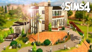 CONSTRUYO CON HERRAMIENTAS DE TERRENO 😍⛏🏡 Los Sims 4 Speed Build