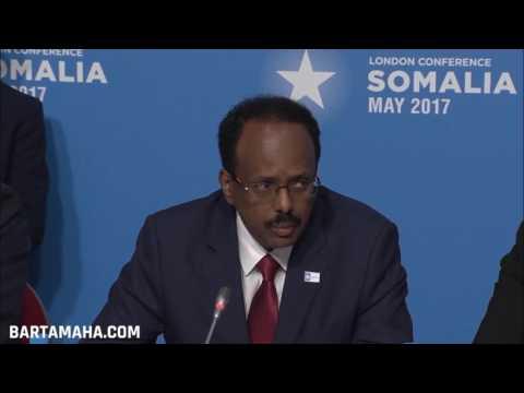Somalia President Farmajo calls for arms' embargo end to defeat al-Shabab
