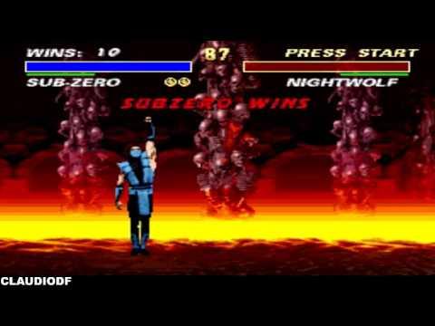 [TAS] Ultimate Mortal Kombat 3 SUB-ZERO - Very Hard (SNES)