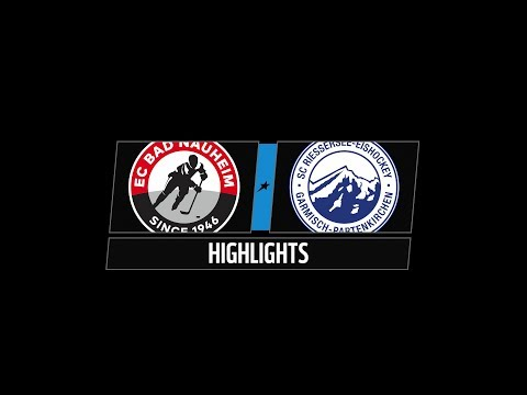 DEL2 Highlights 23.Spieltag | EC Bad Nauheim vs. SC Riessersee