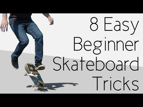 8 Easy Beginner Skateboard Tricks