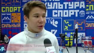 Первенство России по фехтованию среди кадетов \ шпага командные