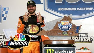 Martin Truex Jr. breaks down how he won his second-straight playoff race | Motorsports on NBC