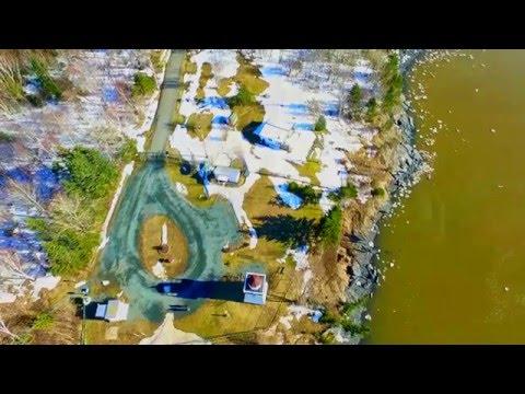 #NSLighthouseProject: Walton Harbour (winter shoot), Nova Scotia, Canada, via DJI Phantom drone