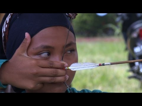 Ancient Indonesian archery finds mark in the modern world
