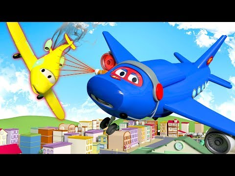 Something's wrong with Penny the Plane ! Carl the Super Truck at the rescue in Car City | Cartoons