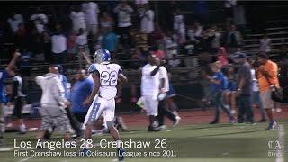 Los Angeles stuns Crenshaw in football