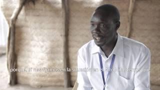 Educación en el campo de refugiados de Maban, Sur Sudán
