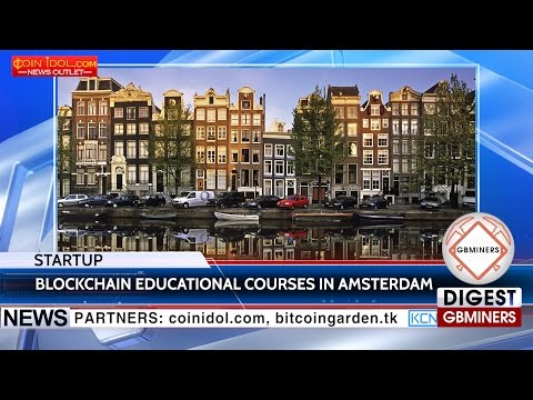 KCN Blockchain Education Company launched in Amsterdam
