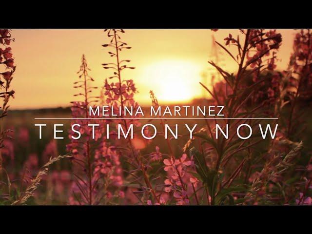 Testimony Now interviews Melina Martinez