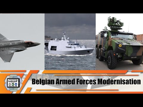 Belgian Armed Forces Modernisation Programs Air Navy And Land By Didier Reynders Belgium