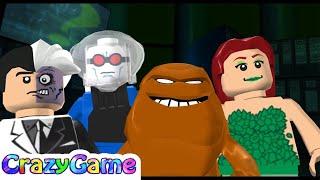LEGO Batman The Videogame Co-op Wii Gameplay Walkthrough #1