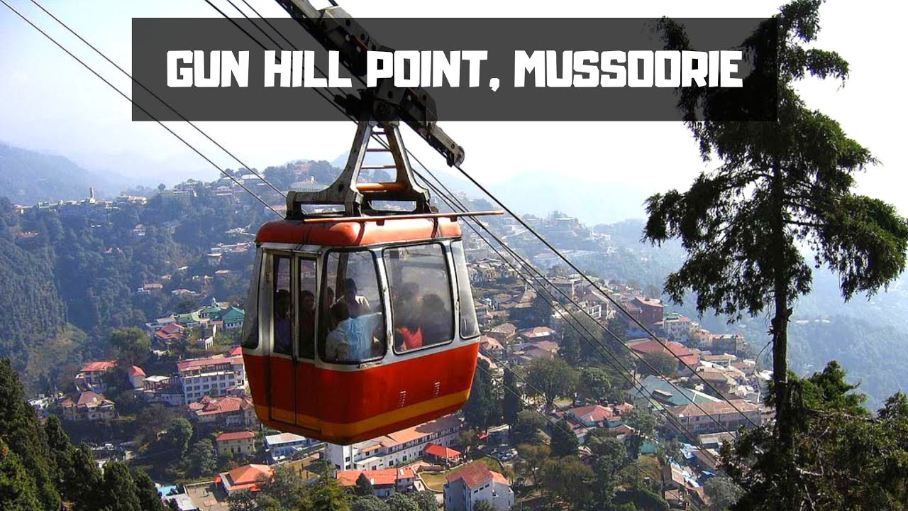 GUN HILL POINT IN MUSSOORIE II TRAVELODDS - YouTube