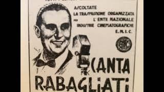 Orchestra Cetra Pippo Barzizza, Alberto Rabagliati, Ba ba baciami piccina, Fox, Italien, 1940